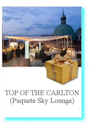 TOP OF THE CARLTON – Paquete Sky Lounge