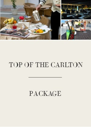 TOP OF THE CARLTON – Sky Lounge Package