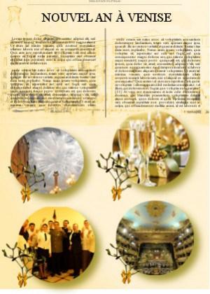 Réveillon du Nouvel An et la Saint-Sylvestre à Venise