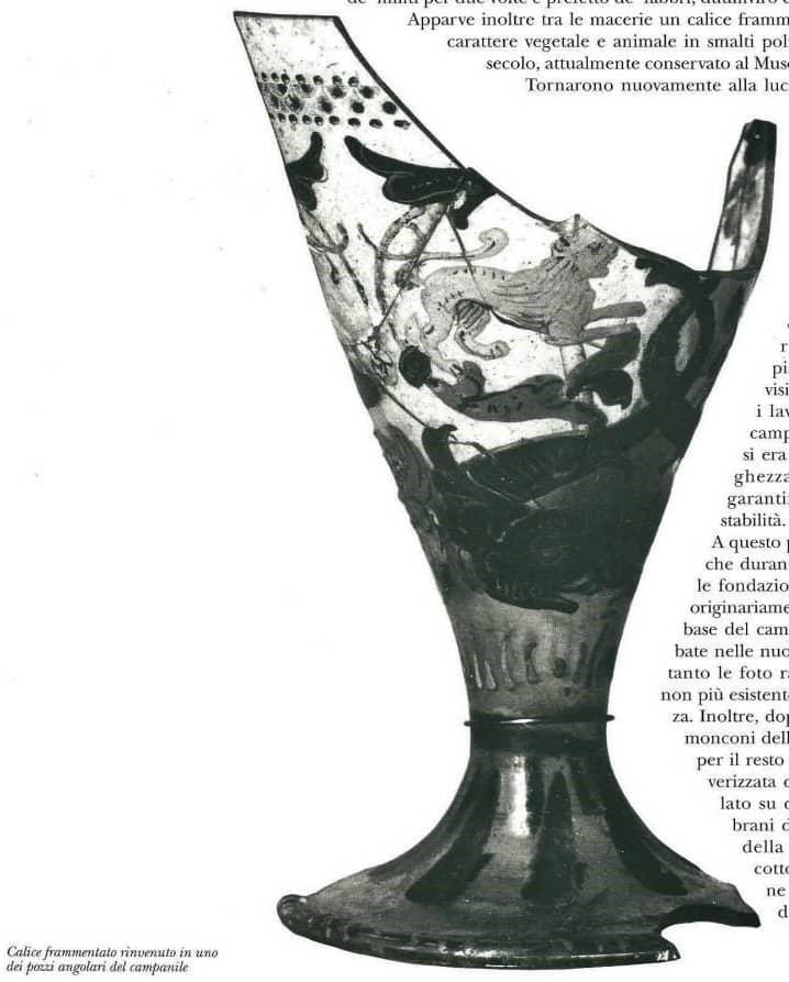 Calice antico di Murano