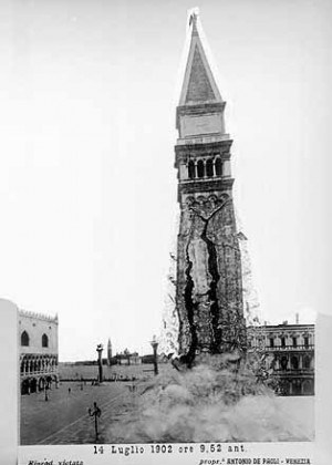 The Collapse of St. Mark's Bell Tower