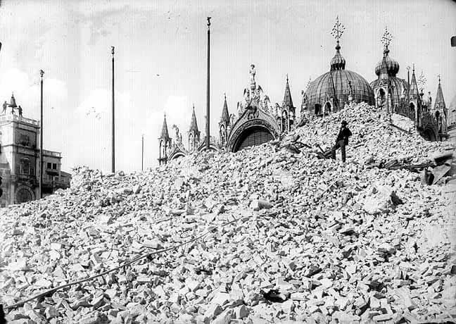 Crollo del Campanile di San Marco4