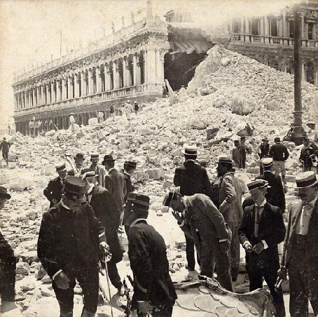 Crollo del Campanile di San Marco5