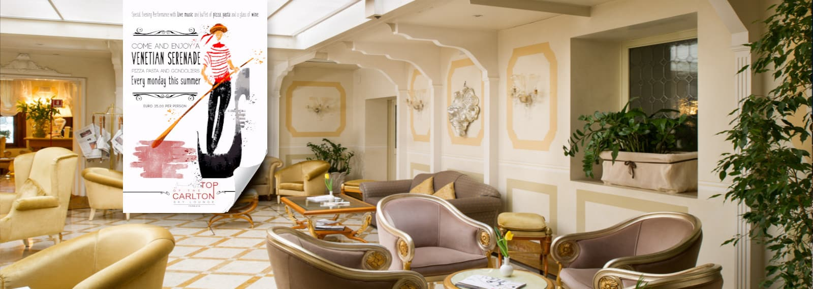 Hotel carlton on the grand canal 4 stars hotel in venice