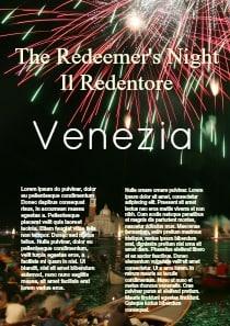 Die Erlösers Festival in Venedig