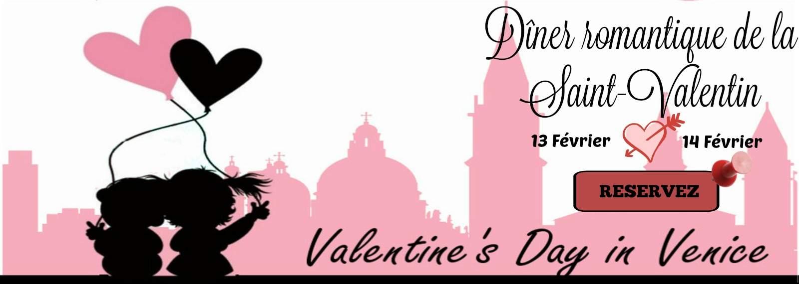 Dîner romantique de la Saint-Valentin