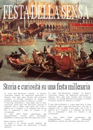 La Fiesta de la Sensa en Venecia