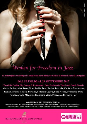 Women for Freedom in Jazz – Musique à Venise