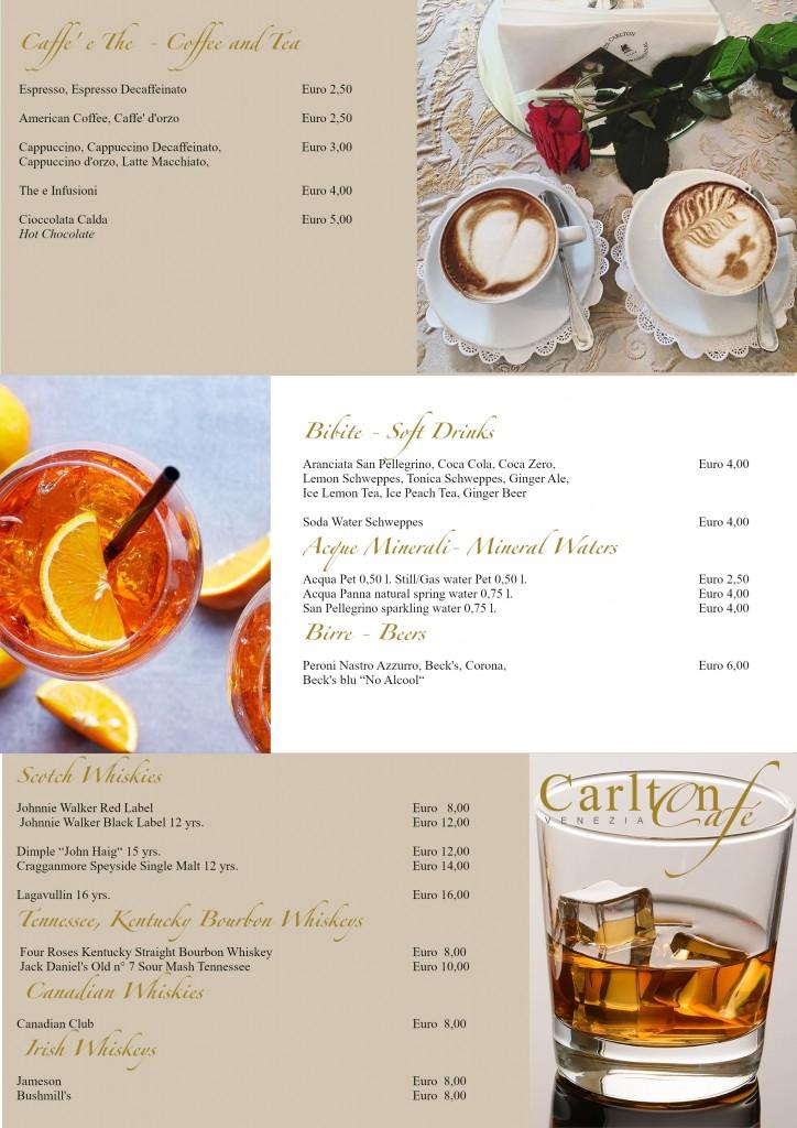 menu quarta pagina
