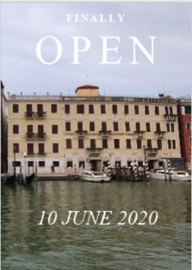 Hotel Carlton on the Grand Canal reabre el 10 de junio 2020